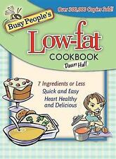 Busy People's Low-Fat Cookbook by Dawn Hall - NEW
