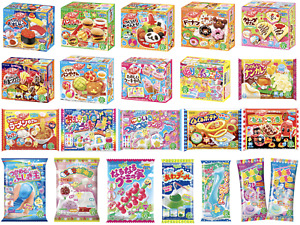6 KRACIE POPIN COOKIN KITS DIY Japanese Candy Sweets