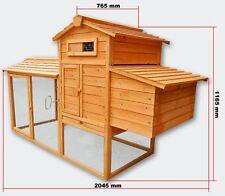 XXXL Hühnerstall Hühnerhaus Kaninchenkäfig Hasenstall Kaninchenstall CH009ab