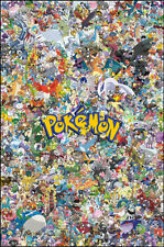 Pokemon Poster Wall Art Print Pokémon Mashup Wall Home Decor