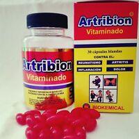 ARTRIBION & ORTIGA CURCUMA / ARTHRITIS join pain 30 SOFTGEL caps 100% original