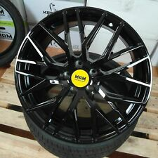 Felgen MAM RS4 Black Painted (BP) 19 Zoll ET 40 Hyunai i30N Performance Neu