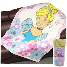 Kids Girls Cosy TV Blanket Super Soft Fleece With Sleeves & Pocket Snuggle up