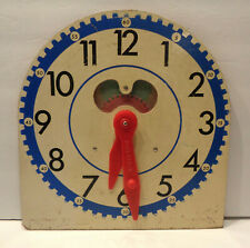 Vintage 1950s by Judy Geared Classroom Clock!