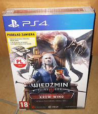 Wiedźmin 3 III Krew i Wino Dodatek PS4 The Witcher 3 Blood and Wine BOX NEU OVP