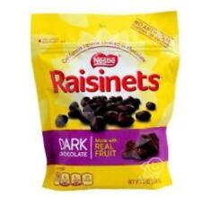 Nestle Raisinets Dark Chocolate 8oz
