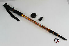 One Trekking Walking Hiking Sticks Poles Alpenstock anti-shock Gold