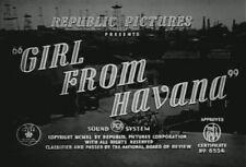 GIRL FROM HAVANA (1940) DVD DENNIS O'KEEFE, CLAIRE CARLETON