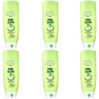 Pack of (6) NEW Garnier Fructis Pure Clean Conditioner, 13-Fluid Ounce
