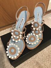 Manolo Blahnik Sandals Size 38