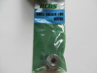 RCBS Shell Holder 1, #01;  09201;  218 Bee, 25-20 Win, 32-30 Win, 8mm Lebel
