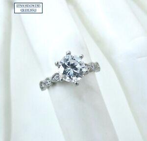 Platinum Diamond Engagement Ring Setting. **ONLY $590**