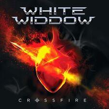 WHITE WIDDOW - Crossfire / New CD 2014 / Melodic Hard Rock / Tigertailz