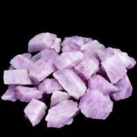 1/2LB Natural Kunzite Gemstone Rough Stone Crystal Spodumene Mineral Healing Lot