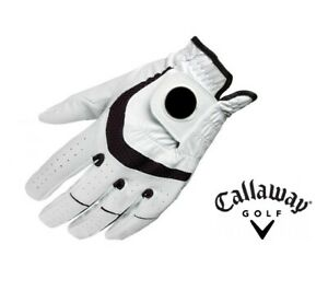 3 x NEW Men's Callaway Syntech Golf Glove with Ball Marker - Size Small