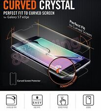 5 X Full Front LCD Screen Protector Curved Fit for Samsung Galaxy S7 Edge