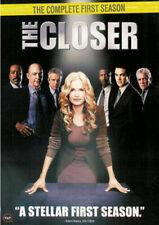 The Closer season 1 first one DVD 4Disc BOXED SET Kyra Sedgwick J.K. Simmons