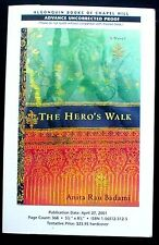 The Hero's Walk:A Novel, Advance Uncorrected Proof of the First American Ed. NEW