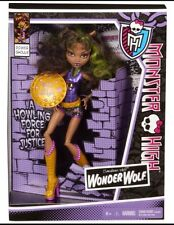 Monster High Doll  Comic Power Ghouls Super Hero Wonder Wolf Clawdeen New In Box