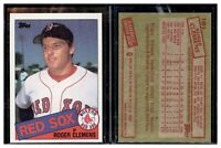1985-TOPPS-181-ROGER-CLEMENS-MINT-RC-RED-SOX