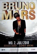 MARS, BRUNO - 2018 - Konzertplakat - In Concert - Tourposter - Düsseldorf