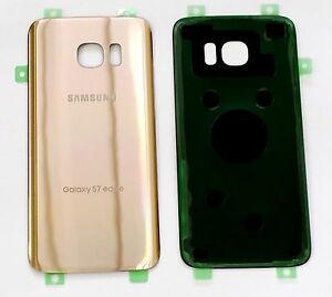 Back Cover Glass For Samsung Galaxy S7 Edge G935 ~ GOLD  for All Carriers !!