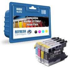 Refresh Cartridges Juego Completo De LC1280XL Tinta Compatible Con Brother