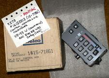 1988-93 Pontiac Grand Prix AC/Heater Control Panel (No Rr Defogger) NOS 16152212