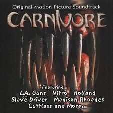 Carnivore - LA GUNS, NITRO, HOLLAND; RARE film soundtrack + BONUS MP3s + videos