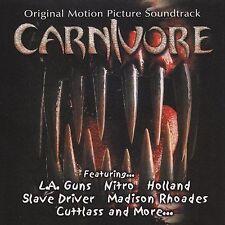 Carnivore - LA GUNS, NITRO, HOLLAND; RARE film soundtrack + BONUS MP3s + videos