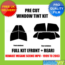 RENAULT MEGANE SCENIC MPV 1999-2003 FULL PRE CUT WINDOW TINT KIT