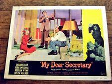 MY DEAR SECRETARY Original Lobby Card KIRK DOULAS HELEN WALKER KEENAN WYNN