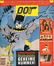 MAGAZINE OOR 1986 nr. 25/26 - RESIDENTS/FEELIES/IGGY POP/BATMAN