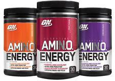 Optimum suplementos energéticos de aminoácidos Amino Energy beta alanina amino ácido Proteína - 30 porciones elige sabor