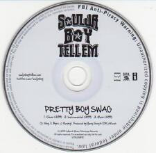 Soulja Boy Tellem - Pretty Boy Swag - Radio Promotional CD Single - 1218