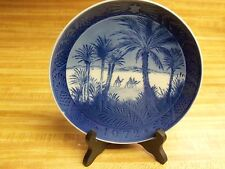 Vintage 1972 Royal Copenhagen Christmas Plate * In The Desert *