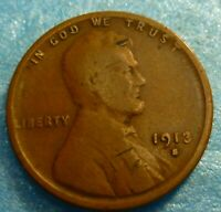 1913s  Lincoln Cent  Coin  #13s better grade
