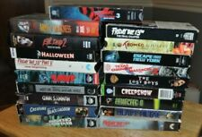 Lot Of 31 Vintage Vhs Horror Movies Jaws Halloween Friday 13 Evil Dead Creepshow
