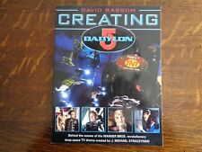 Creating Babylon 5 Original 1997 New! 1st Edit Tv Book Scifi Aliens Bassom R31