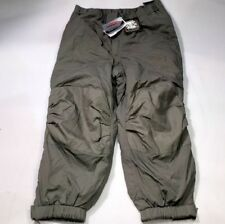 GEN III Level 7 Pants Large Regular ECWCS Grey Primaloft Cold Weather Trousers