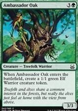 4X Ambassador Oak NM Duel Decks: Mind vs. Might Green Common