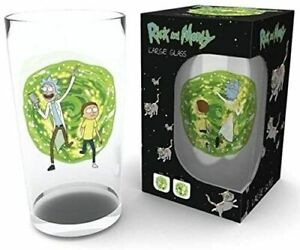 Rick And Morty - Portal Glasses Glass GB Eye In Gift Box, Stock filler, Present