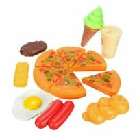 Pizza Toy Included Cola Ice Cream Egg Sausage Total 8 plastic kitchen toy