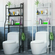 3-Tier Over The Toilet Rack Bathroom Space Saver Laundry Towel Storage Organizer