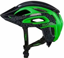 Oneal Orbiter Enduro Style Fidlock MTB Bike Bicycle Helmet Black Green 60-64cms