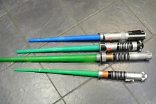 Hasbro Star Wars light saber x 4