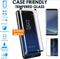 For Samsung Galaxy S9 S8 Plus Screen Protector 3D Anti-Spy Tempered Glass New