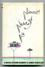 John ASHBERY and James Schuyler. A Nest of Ninnies. 1969 1st SIGNED by ASHBERY
