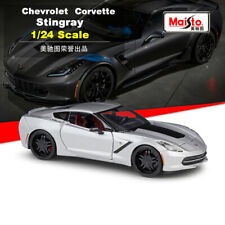 Maisto Modern Muscle Car 1:24 2014 Chevrolet Corvette Stingray Diecast Model Toy