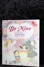 Be Mine~ A Book of Valentines~ A Golden Book~Six Press Out Valentines- RARE